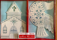 HALLMARK 40 Church & Dove Religious Boxed CHRISTMAS CARDS w/Envelopes NIB