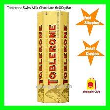 Toblerone Swiss Milk Chocolate Honey Almond Nougat 6x 100g Bars eBargainClub