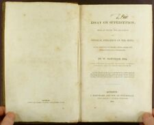 1830 Essay on Superstition by Newnham - Medical Explanation for Supernatural