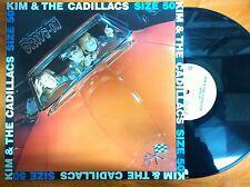 LP 33 GIRI KIM & THE CADILLACS - SIZE 50 (DRIVE IN) - ARISTON 1984 - EX-/VG+