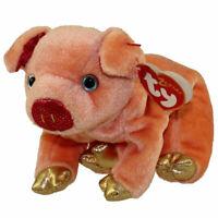 TY Beanie Baby - THE PIG Chinese Zodiac (6.5 inch) - MWMT's Stuffed Animal Toy