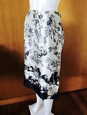 Max Mara-Made In Italy-Pure Silk Skirt-Size 44-GB 14