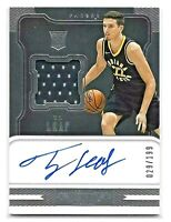 2017-18 Panini Dominion T.J. Leaf #152 Jersey Patch Auto RC 029/199 Pacers RPA