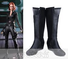 Captain America Black Widow Natasha Romanoff Natalia Alianovna Romanova Boots