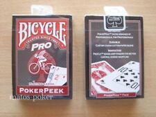 Jeu de 52 cartes BICYCLE PROPEEK ROUGE poker et magie 54 cartes de collection 61