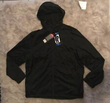 NEW Gerry Soft Shell Black Windbreaker Rain Jacket Size L