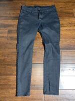 PREOWNED-Rock & Republic Size 14 M Black Denim Jeans Women Pants