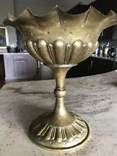 Exceptional & Early Egidio Casagrande Tall Goblet Urn Very Ornate 15""