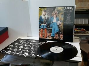 Abba Greatest Hits 12 Inch record