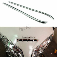 Chrome Fairing Eyebrows Trim Accent Moulding for Honda Goldwing GL1800 2001-2011