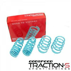 Godspeed Traction-S Lowering Springs For Ford Taurus 2010-19
