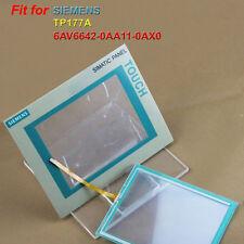 Per SIEMENS tp177a 6av6642-0aa11-0ax0 Touch screen Vetro + pellicola protettiva