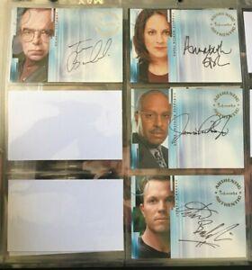 The X-Files - Season 8 -  Inkworks Master Trading Card Set