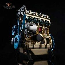 Innovative Stirling engine Four cylinder engine metal mechanical model assembly