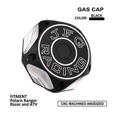 Aluminum CNC Black Gas Fuel Tank Cap For Polaris Ranger Razor and ATV