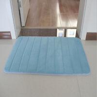Soft Floor Rug Carpet Bath Bathroom Bedroom Home Kitchen Shower Mat Non-slip Pad