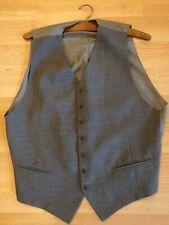 "Mens Grey Waistcoat, 38-40"", Excellent Condition"