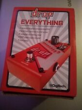 Digitech Drop Polyphonic Droptune Guitar Effect Pedal Unopened in Box