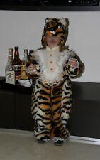 CARNEVALE costume vestito TIGRE TIGROTTO bambino 3 - 4 anni