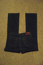womens ralph lauren polo modern low rise boot cut dark wash denim jeans sz 6 29