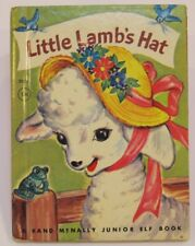 LITTLE LAMB'S HAT   vintage Rand McNally Jr Junior Elf 1959 basket on head VG!!
