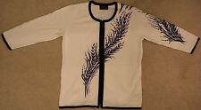 Bob Mackie Cardigan Sweater BRAND NEW