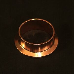 """2"""" Copper Tri-Clamp/Tri-clover Ferrule for Still Column. Can connect to beer keg"""