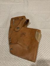Vintage Leather Drill Pistol Type Holster By Rooster Products Model R-415UV C17