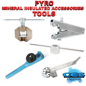 PYRO MINERAL INSULATED CABLE TOOLS JOI STRIPPER WRENCH RINGING CRIMPER POTTER