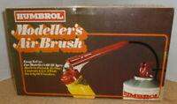 Vintage humbrol modellers airbrush - unused