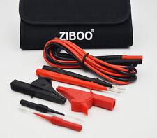 ZIBOO Test Leads & Test Probe Kit ( FLUKE TL224,TP1,Alligator Cip,Piercing Needl