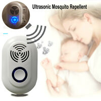 Electric Ultrasonic Mosquito Insect Pest Bug Zapper Killer Pest Sonic