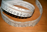 Vintage Soviet Computer Punched Paper Tape with Old Program Code, USSR 1960-1970