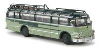 BREKINA 58063 - Autobus di linea Saurer 5GVF-U Starline colore blu/verde HO 1:87