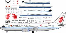 Air China Boeing 737-800 decals for Revell 1/144 kit