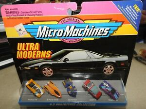 NEW Micro Machines Ultra Moderns #3 Prototypes Collection by Galoob NIP 1993