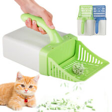 Cat Litter Scoop&Box&Bags Quick Easy Sift Sand Pet Shovel Cleaning Tool Scooper