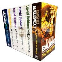 David Baldacci 6 Books Collection Set True Blue, Saving Faith, Simple Truth NEW
