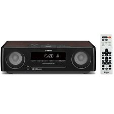 YAMAHA Desktop audio system CD USB/wide FM AM radio/Bluetooth Black TSX-B235(B)
