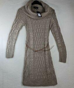 Lipsy London - Dress - Knitwear - UK 10 - Cable Knit - Cowl Neck - BNWT