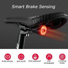 Luce posteriore per bici a led ricaricabile usb faro fanale tondo corsa mtb