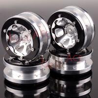 """4× 1061 Wheel Rim Aluminum 1.9"""" Beadlock 6 Spoke For RC Rock Crawler HSP 1:10"""