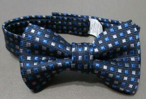 Nautica Baby Boys Pretied Bow Tie, Navy Blue Multi, One Size