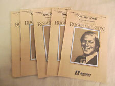 Oh, My Lord 3 Pt Mixed Voices Arranged by Roger Emerson 403-15130; 1985 Jenson