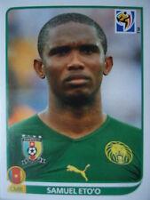 Panini 408 Samuel Eto'o Kamerun FIFA WM 2010 Südafrika