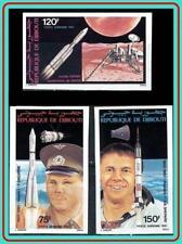 DJIBOUTI 1981 SPACE ANNIVERSARIES imperforated MNH GAGARIN CV$35.00