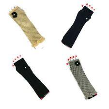 Gestrickte Fingerlose Damen-Handschuhe