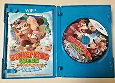 Donkey Kong Country Tropical Freeze Nintendo Wii U Complete w/ Manual & Box