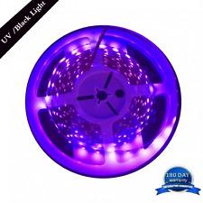 AMARS 5M/16.4ft 3528 SMD Blacklight UV/Ultraviolet 395nm-405nm LED Light Strip F