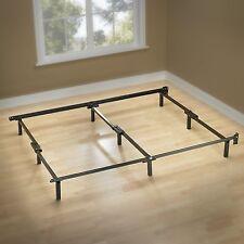 Bed Frame Metal Cal King Center Support Platform 9 Legs Steel  EASY Assembly